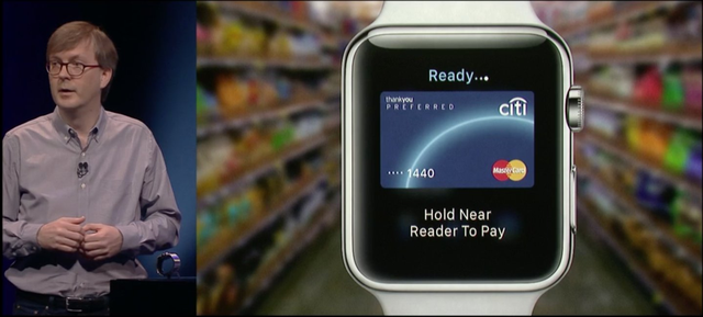 Apple Watch hỗ trợ dịch vụ thanh toán Apple Pay