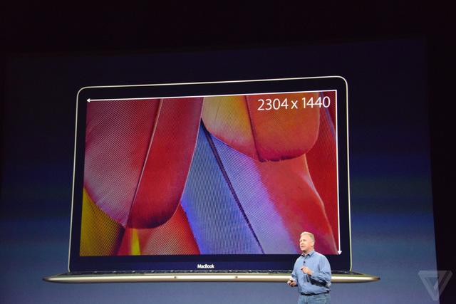 Độ phân giải màn hình là 2304 x 1440 pixel