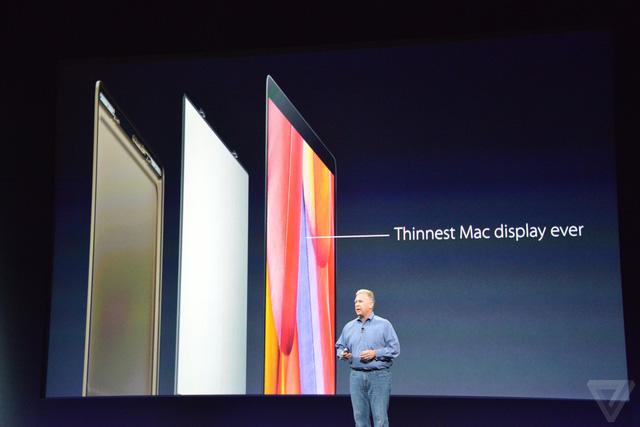 MacBook mới sở hữu màn hình mỏng nhất trong dòng máy Mac