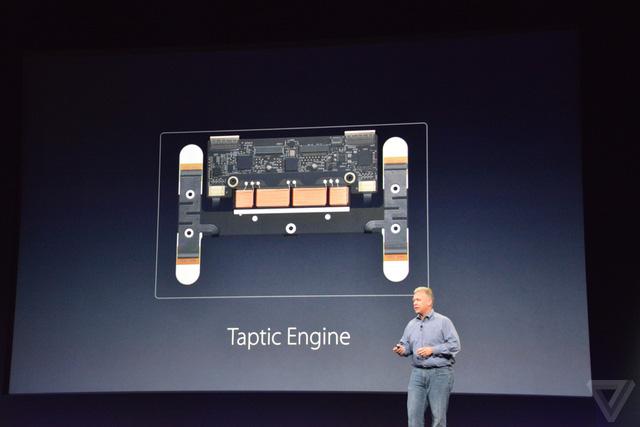 Taptic Engine mang lại cảm giác nhấn như thật