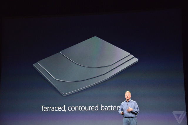Pin của MacBook mới được chia thành 3 lớp