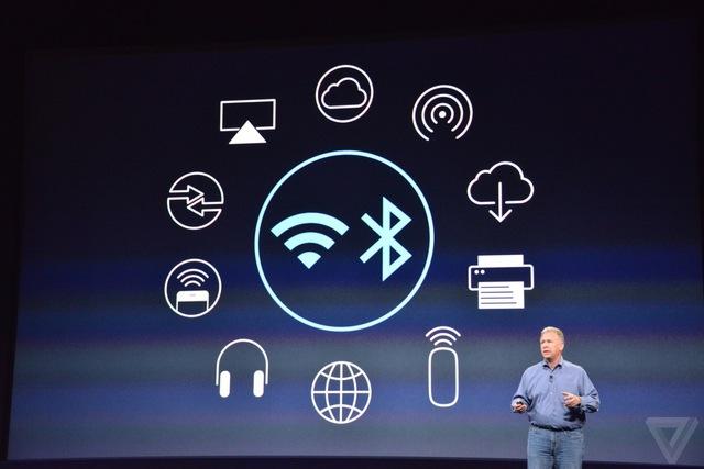 Máy hỗ trợ kết nối không dây Wi-Fi và Bluetooth 4.0