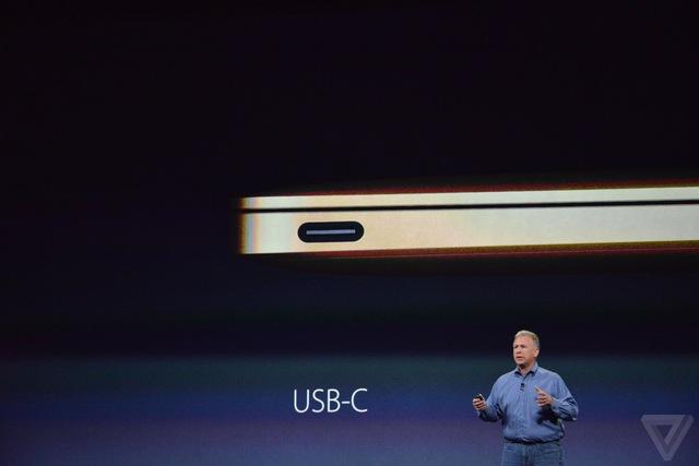 Cổng USB-C trên MacBook