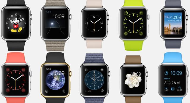Apple Watch hiển thị chính xác hai mốc thời gian là 10:09:00 và 10:09:30