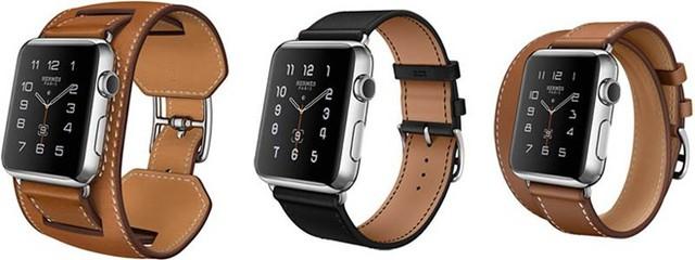 3 phiên bản dây đeo của Apple Watch Hermes. (Ảnh: Apple)