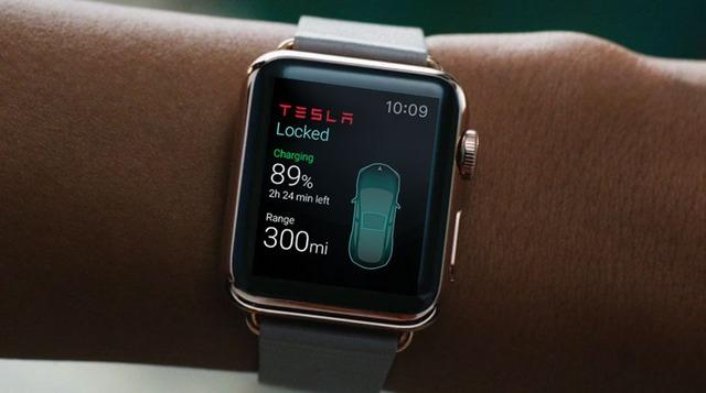 Ý tưởng độc đáo của Eleks về ứng dụng trên Apple Watch có khả năng kết nối với xe điện Tesla