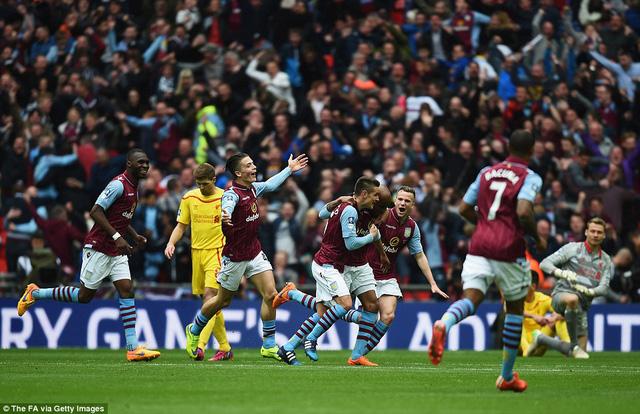 Aston Villa xuất sắc giành vé chơi trận chung kết FA Cup.