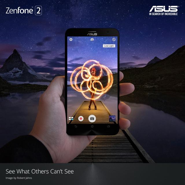 Một bức ảnh ấn tượng chụp từ ZenFone 2