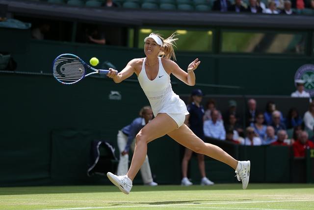 Masha đã có set thua đầu tiên tại Wimbledon 2015