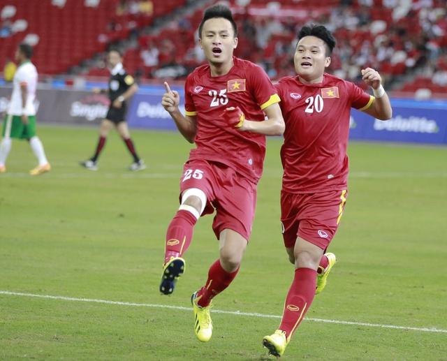 Huy Toàn là một trong những cầu thủ của U23 Việt Nam thi đấu nổi bật ở SEA Games 28.