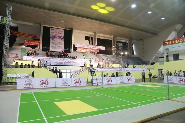 Sân thi đấu vòng loại Robocon Việt Nam 2015 khu vực miền Bắc