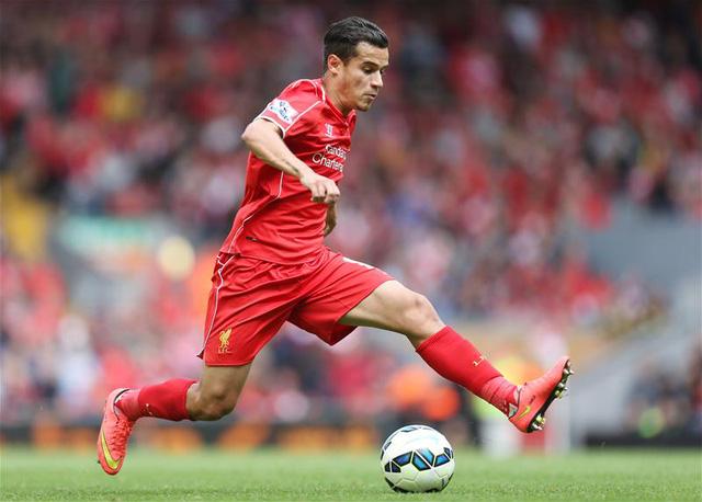 Philippe Coutinho đang là linh hồn trên hàng tiền vệ của Liverpool