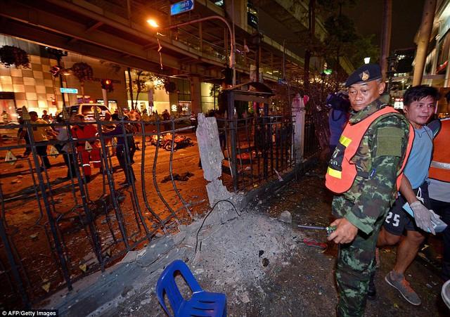 Cảnh sát Thái Lan tiếp tục quá trình điều tra và xem xét mức độ thiệt hại do vụ nổ gây ra.