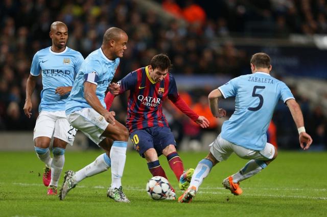 Theo Willy Caballero, Man City không có lý do gì để phải sợ Barcelona
