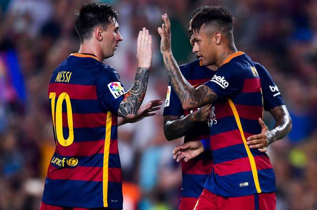Messi và Neymar đóng góp 2 bàn thắng trong chiến thăng 3-0 của Barcelona