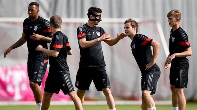Vẫn những nhân sự cũ, liệu Bayern có thể hoàn thành mục tiêu thắng đậm Barca để vào chung kết?