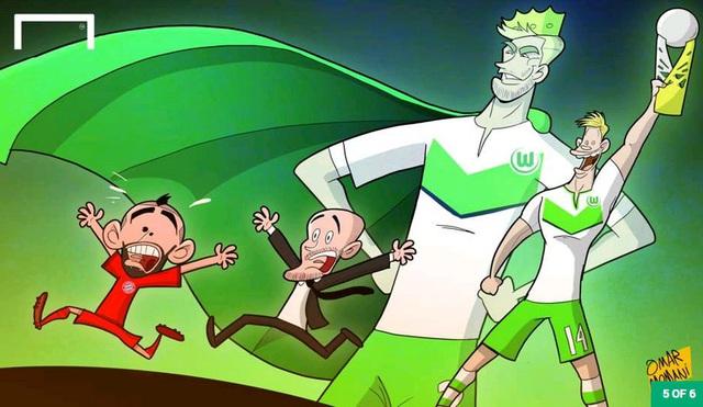 Bom tấn Vidal đã về với Bayern tuy nhiên tiền vệ người Chile không thể giúp ông thầy mới Pep Guardiola xóa dớp không vô địch sau khi lọt vào trận chung kết thứ 3 trong vài tháng qua. Lần này, Bayern thua Wolfsburg trên chấm 11m ở trận Siêu cúp nước Đức.
