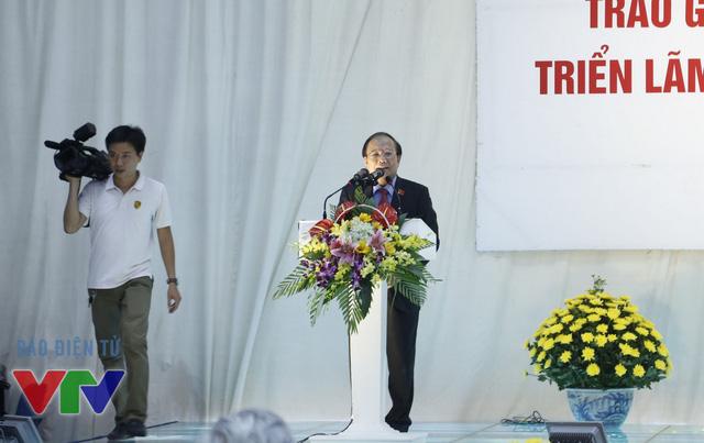 Bộ trưởng Bộ Văn hóa – Thể thao và Du lịch Hoàng Tuấn Anh phát biểu tại lễ trao giải