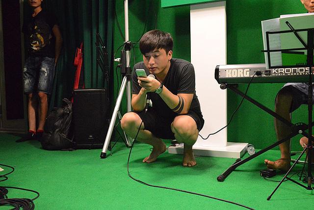 Ca sĩ Tô Minh Đức.