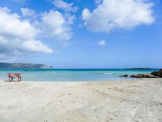 Bãi biển Elafonissi, Elafonissi, Hy Lạp. (Nguồn: AFP)