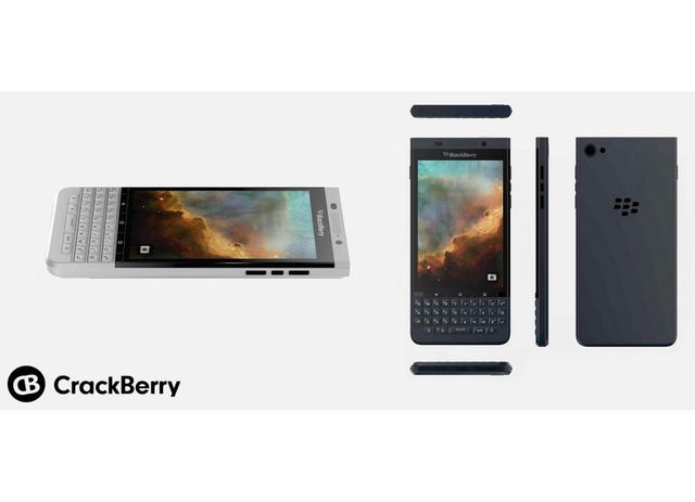 HÌnh ảnh rò rỉ của BlackBerry Vienna được đăng tải trên CrackBerry