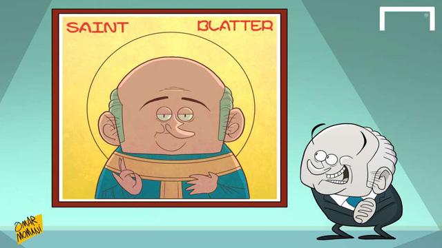 Tuần trước, ông Sepp Blatter vừa đưa ra tuyên ngôn gây sốc khi cho rằng: Ông không hề tham nhũng và ông sẽ lên thiên đường một ngày nào đó.