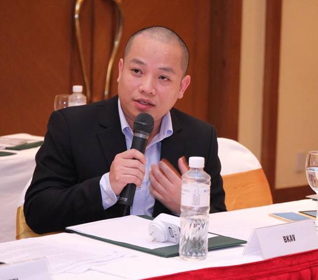 Ông Vũ Thanh Thắng, Phó Chủ tịch Bkav.