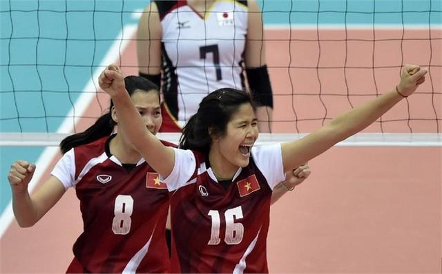 Đội tuyển bóng chuyền nữ vừa tạo nên kỳ tích khi đứng thứ 5 tại Giải vô địch bóng chuyền nữ châu Á