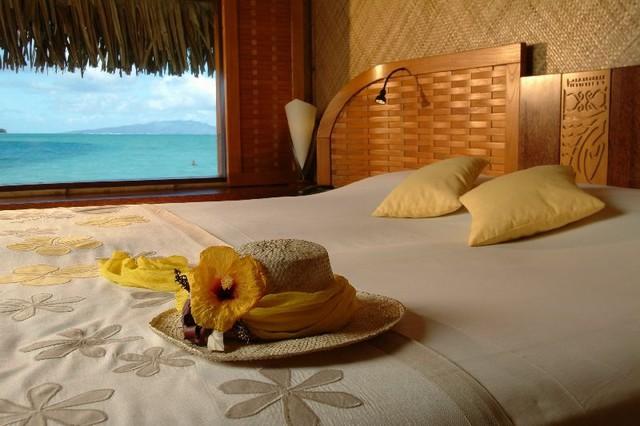 Từ phòng ngủ, khách du lịch có thể nhìn ra biển với tầm nhìn vô cùng khoáng đạt.
