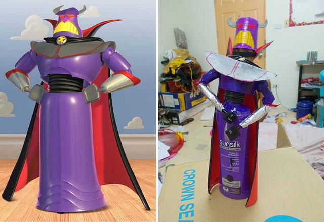 Chúa tể Zurg - kẻ thù của anh hùng không gian Buzz Lightyear