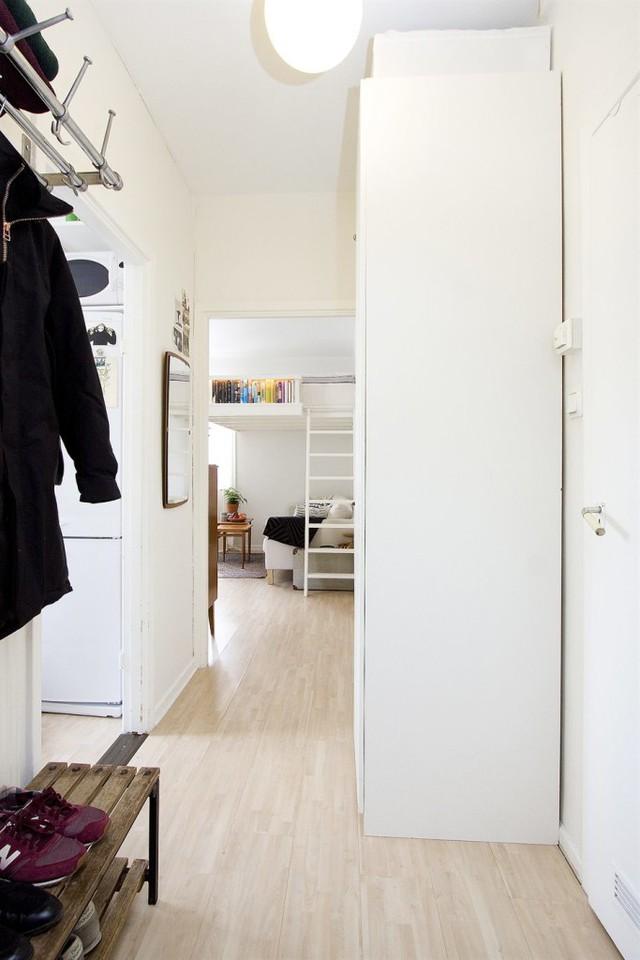 Không gian tuy nhỏ nhưng vẫn tạo cảm giác tiện nghi và ấm áp.