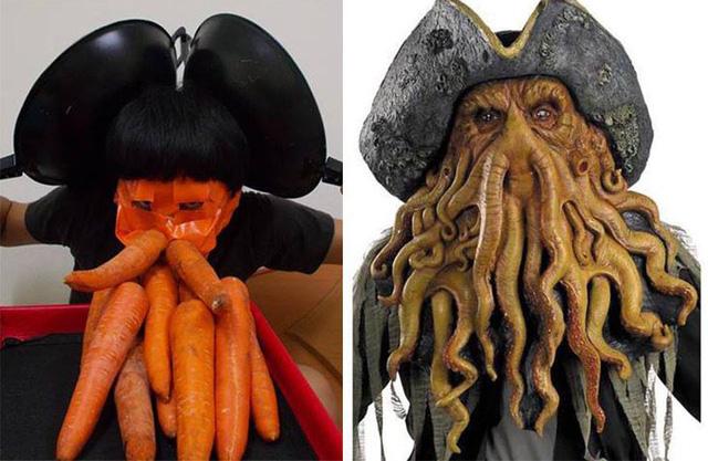 Thuyền trưởng bạch tuộc Davy Jones trong phim Cướp biển vùng Caribe