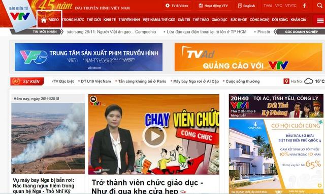 Khán giả truy cập vào Báo điện tử VTV News và bấm vào mục Video.