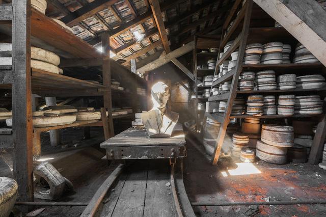 Một xưởng làm gốm cũ ở Pháp