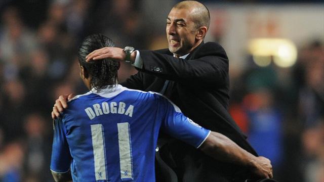 HLV Di Matteo - thần tài của Chelsea