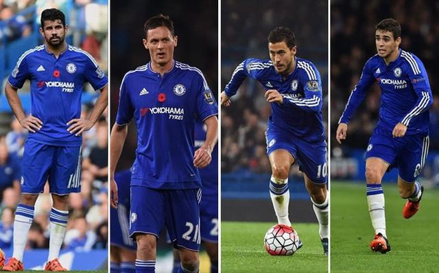 Diego Costa, Matic, Eden Hazard và Oscar sẽ phải sớm nói lời chia tay với Chelsea?