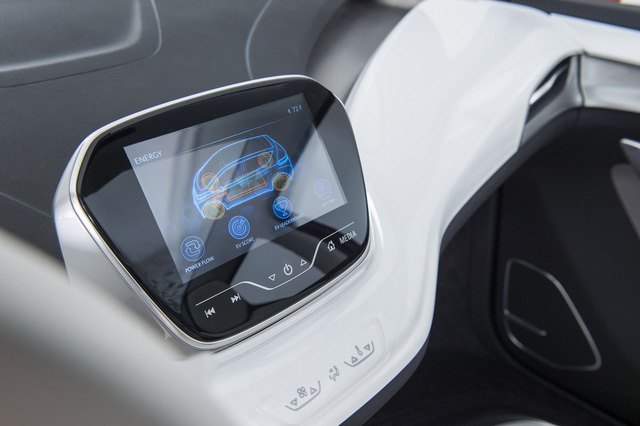 Xe được trang bị màn hình hiển thị sắc nét