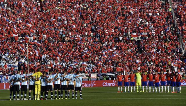Hai đội tuyển Argentina và Chile đều vô cùng quyết tâm khi bước vào trận chung kết Copa America 2015