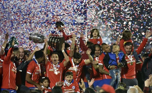 Chile lần đầu tiên đăng quang tại Copa America 2015