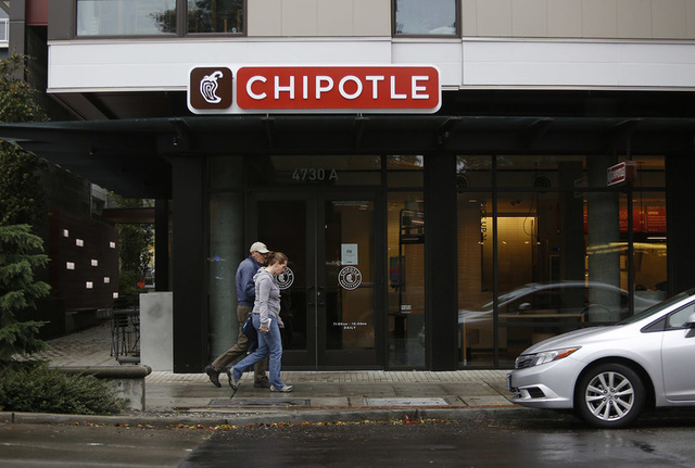 Các cửa hàng Chipotle đã bị đóng cửa do nghi ngờ lây truyền khuẩn E.coli.