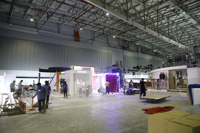 Các gian hàng sẽ được trưng bày trong không gian rộng rãi của Trung tâm Hội chợ và Triển lãm Sài Gòn.