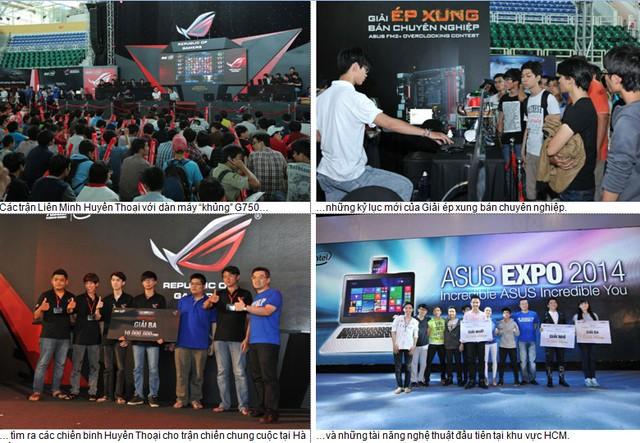 ASUS EXPO 2014 đã thu hút hơn 35.000 lượt khách tham quan tại TP.HCM và Hà Nội