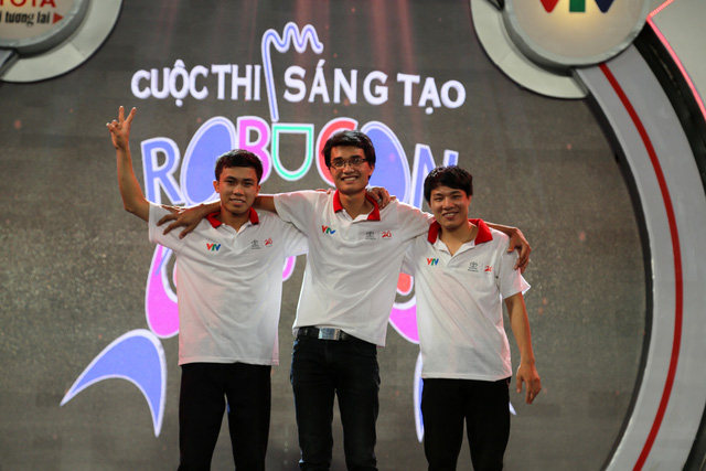 Đội tuyển CN ĐT04 đến từ Đại học Công nghiệp Hà Nội