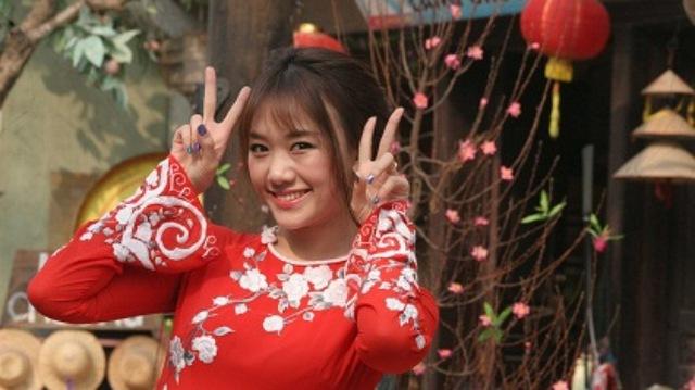 HariWon là nhân vật trải nghiệm tham gia Ăn Tết Việt 2014.