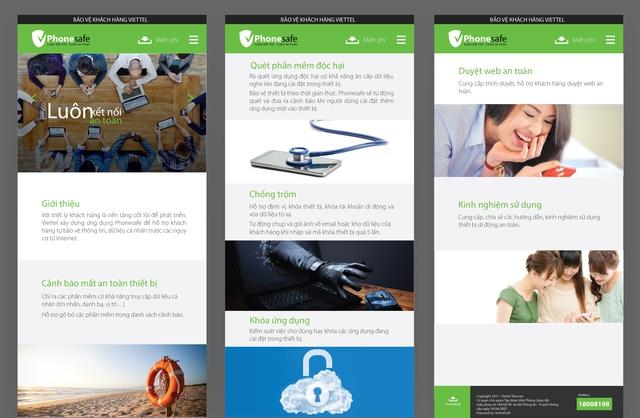 Các tính năng của dịch vụ Phonesafe
