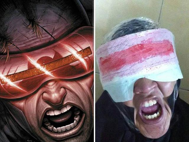 Nhân vật Cyclops trong bộ truyện tranh của hãng Marvel