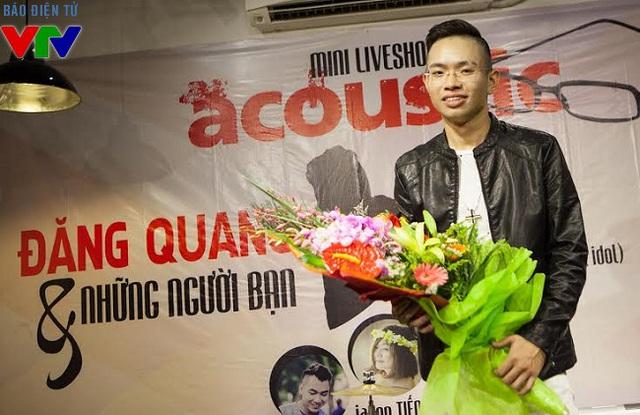 Đăng Quang đã có một Mini Liveshow đầu tiên ở Hà Nội rất thành công.