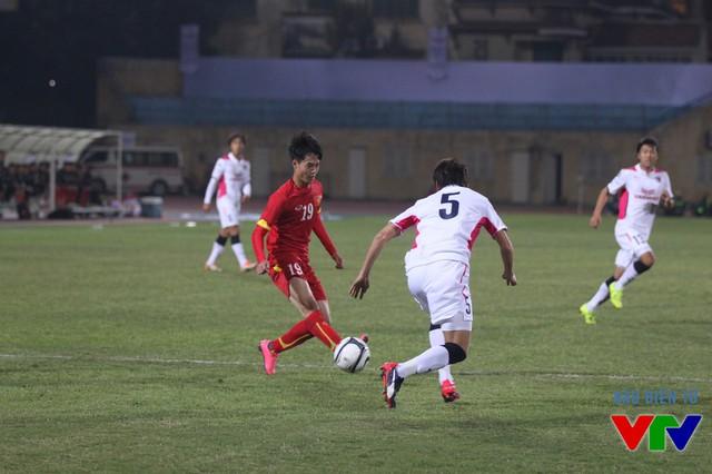 U23 Việt Nam đã có trận đấu ngang ngửa với đại diện mạnh tới từ Nhật Bản.
