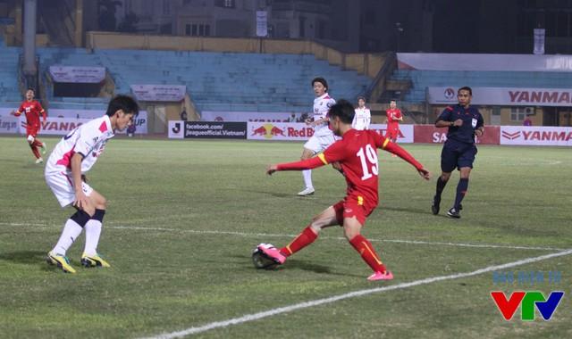 Hàng công của U23 Việt Nam bị chê là rườm rà và chưa chịu khó dứt điểm.