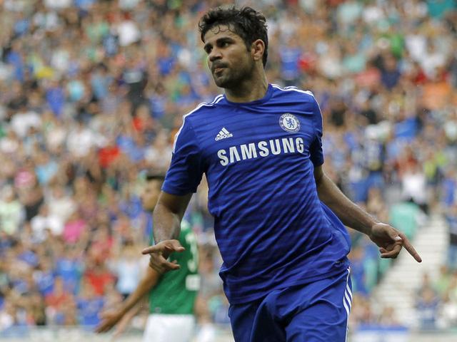 Diego Costa không thể thi đấu do bị treo giò